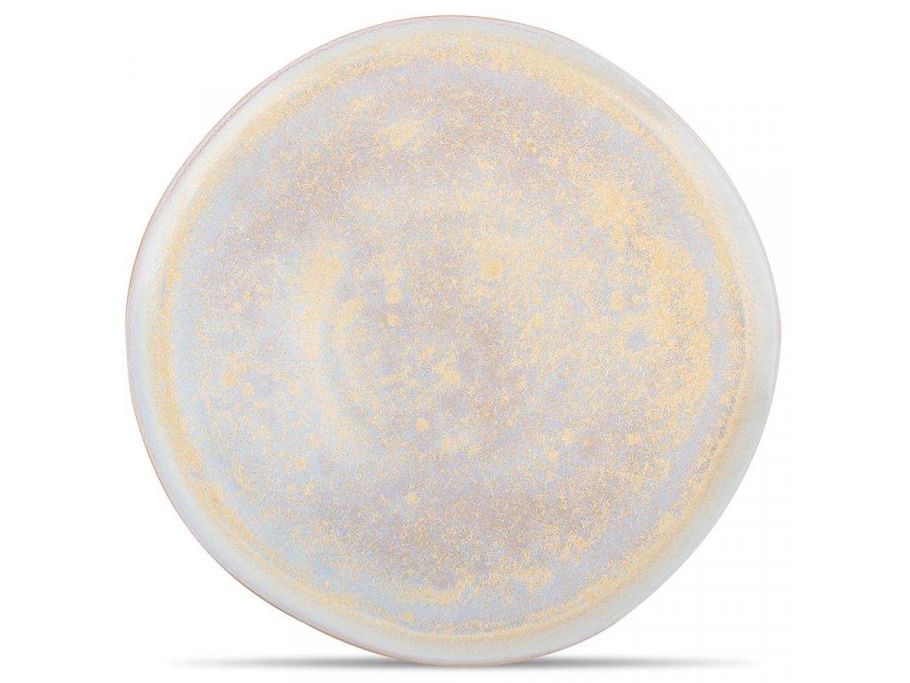 F2D Gold Glister Plate 28x1,5cm 1ks