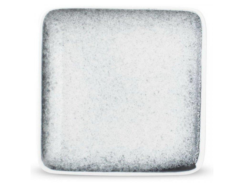 F2D Speckled Dusk Black talíř čtvercový 10x10cm