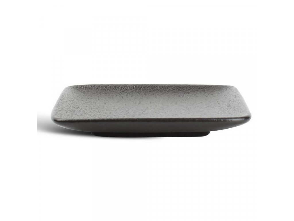 F2D Black Dusk čtvercový talíř 10x10cm