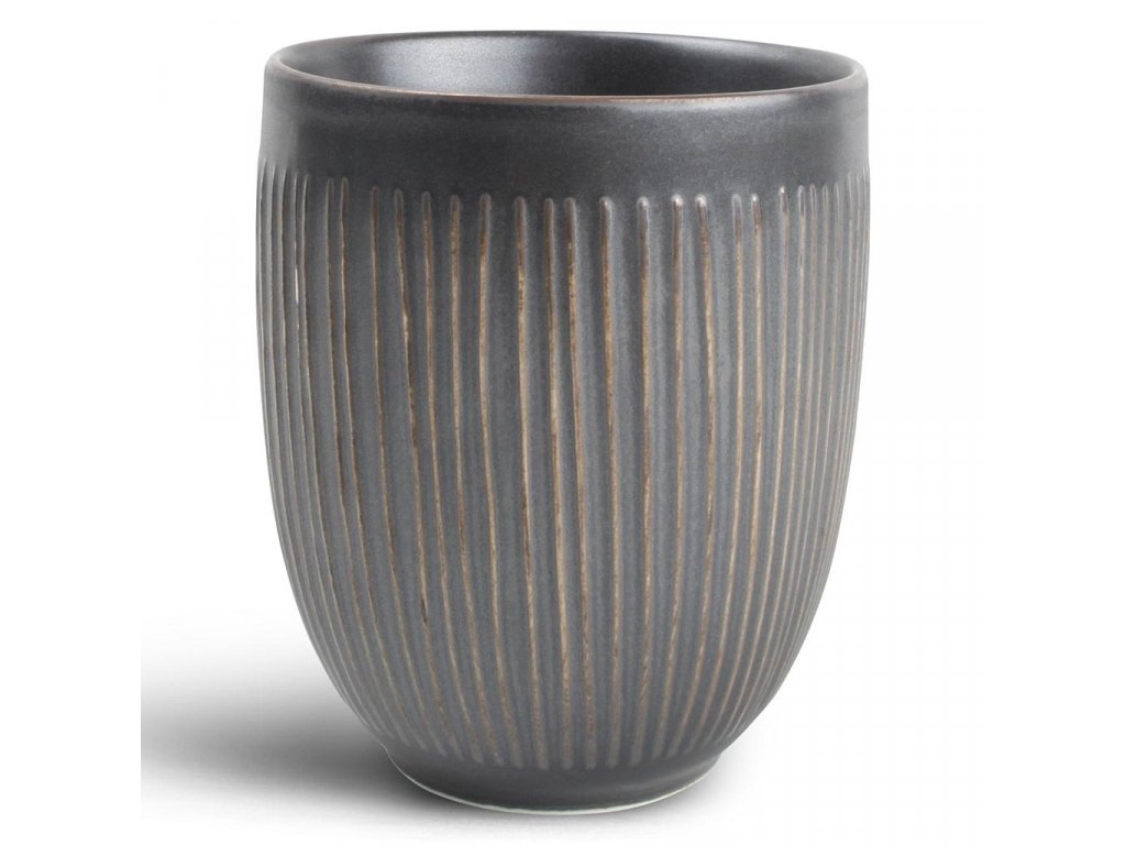 F2D Silver Lines Brass Mug 0,35L without handle