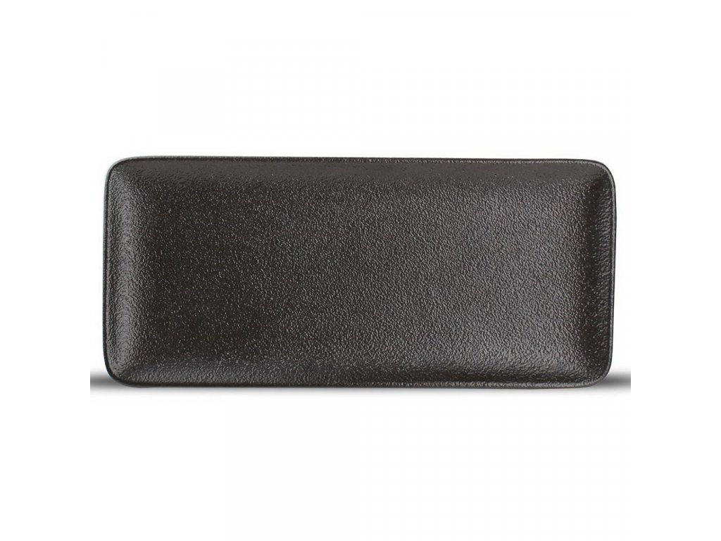 F2D Black Dusk obdélníkový talíř 22x10cm