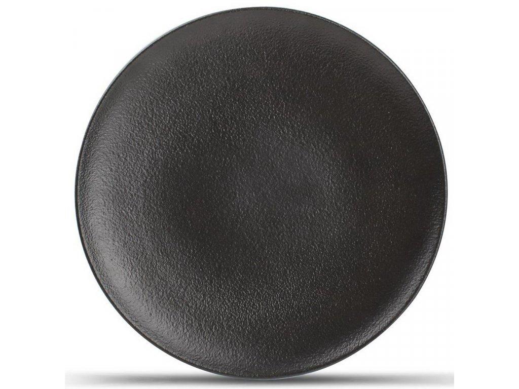 F2D Black Dusk kulatý talíř ø21cm