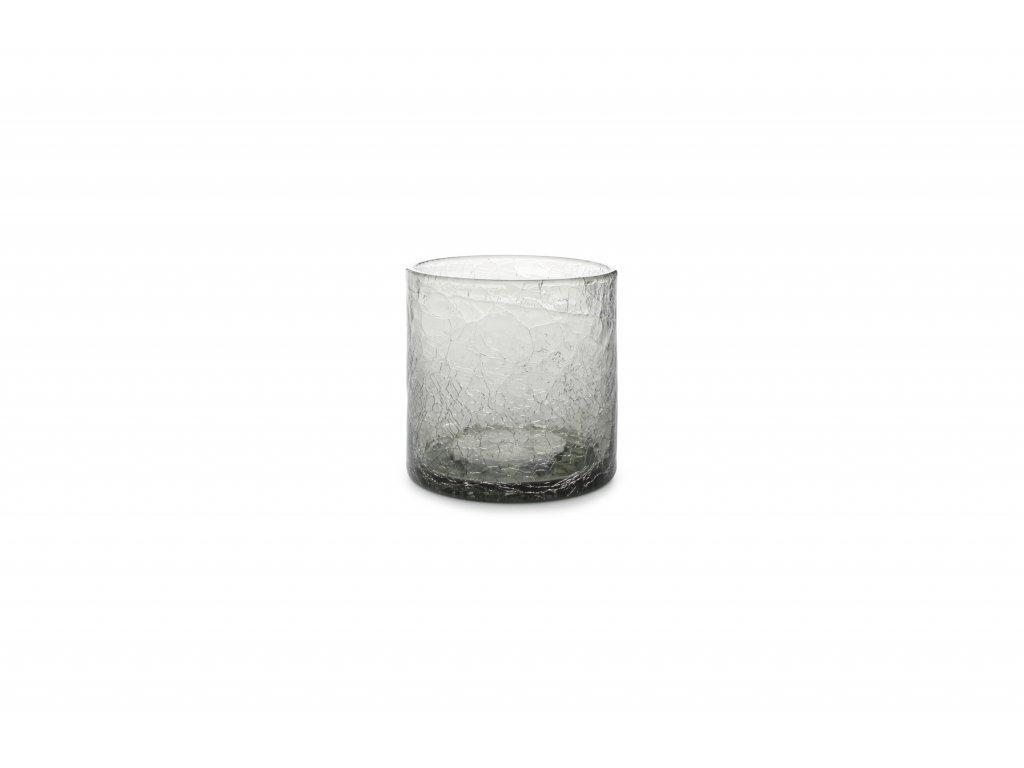 F2D Crackle Whisky sklenice šedá 220ml
