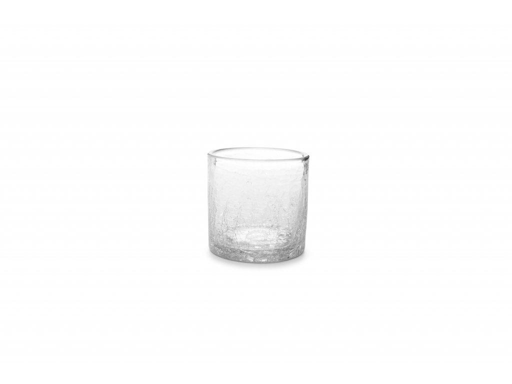 F2D Crackle Whisky sklenice čirá 220ml