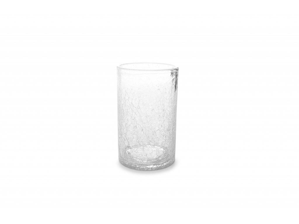 F2D Crackle Longdrink sklenice čirá 400ml