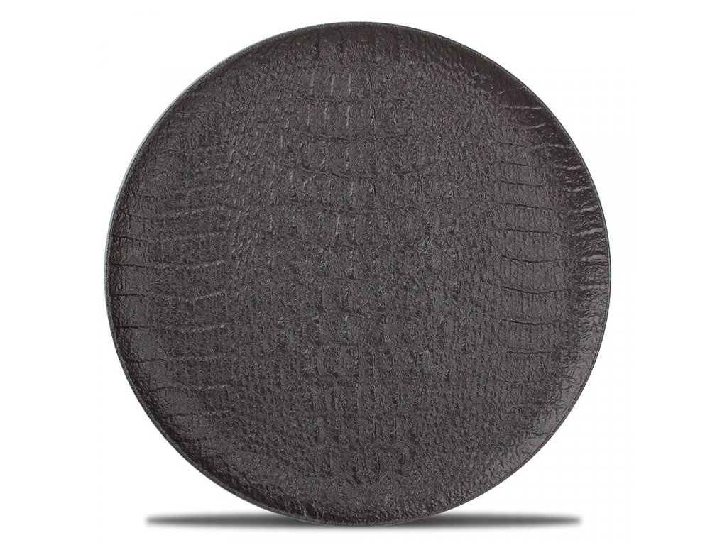 F2D Croco Plate 21cm black