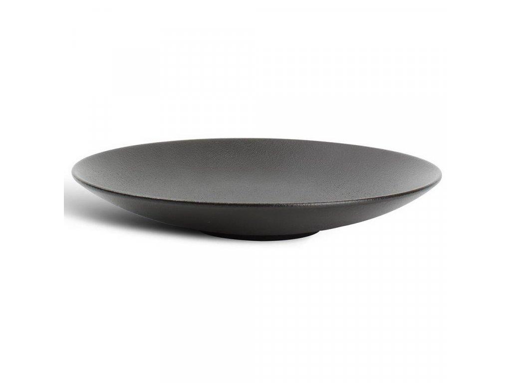 F2D Black Dusk hluboký kulatý talíř ø24.5x4cm