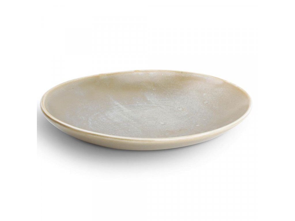 F2D Usko Deep plate 30x21x3,7/5,5cm green oval