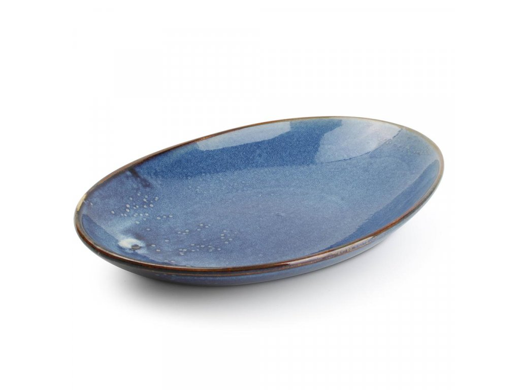 F2D Nova Deep plate 30x21xH3,7/5,5cm oval