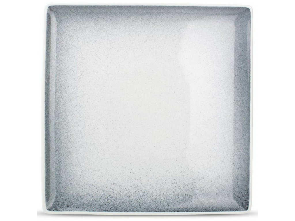F2D Speckled Dusk Black talíř čtvercový 26x26cm