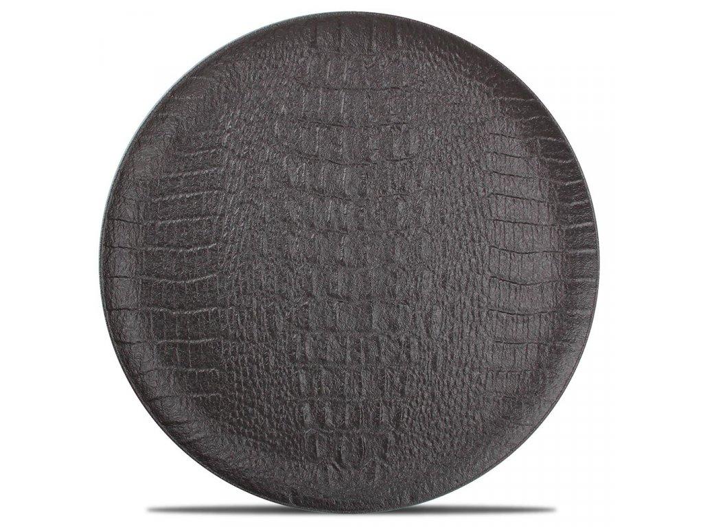 F2D Croco Plate 27cm black