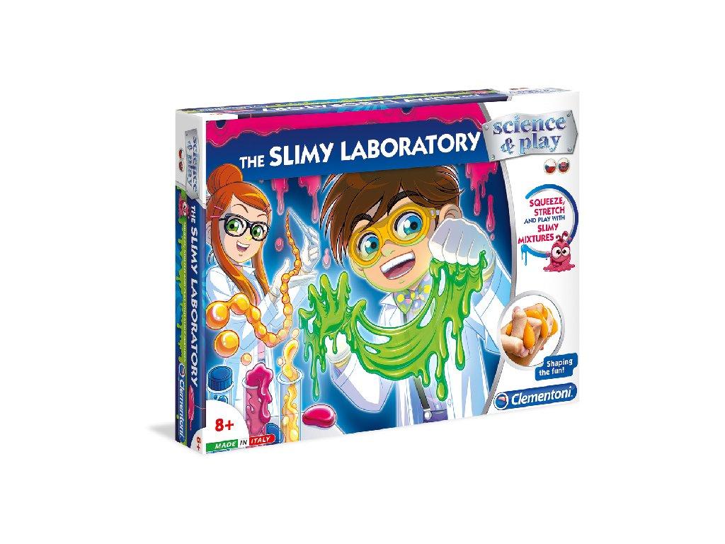 Dětská laboratoř Výroba slizu Clementoni