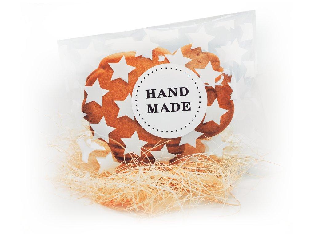 Samolepka Hand made (15 ks)