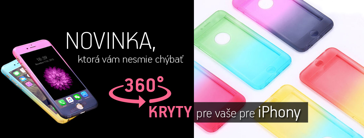 360° kryty pre Vaše iPhone