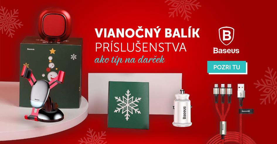 Tip na darček - Vianočný balík príslušenstva od Baseus