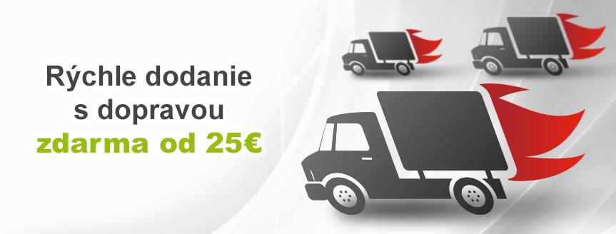 Doprava nad 25€ zdarma