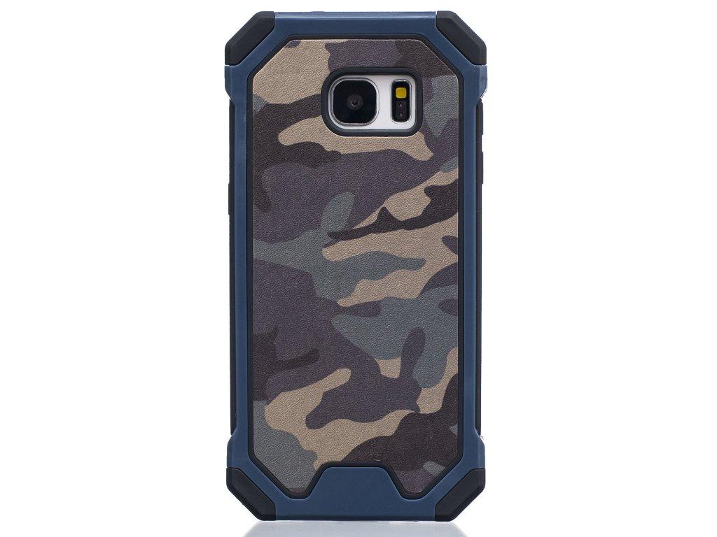 Gumený maskáčový kryt (obal) pre iPhone 7 / 8 - modrý