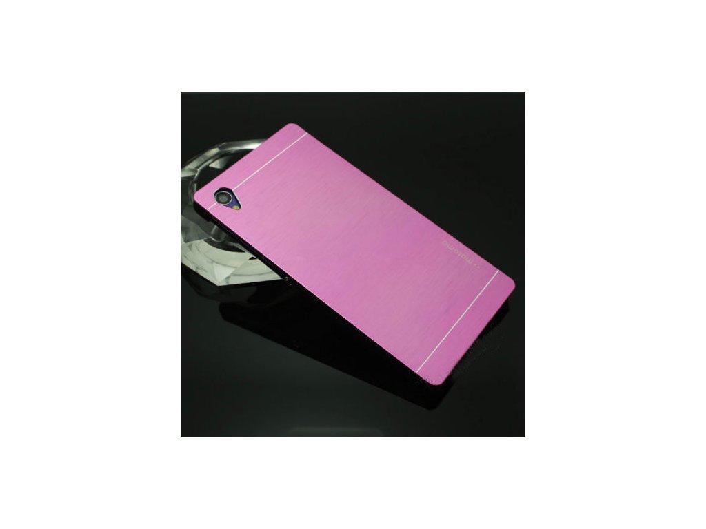 Hliníkový kryt (obal) pre Sony Xperia M4 aqua - pink (ružový ... 53dc8b585c2