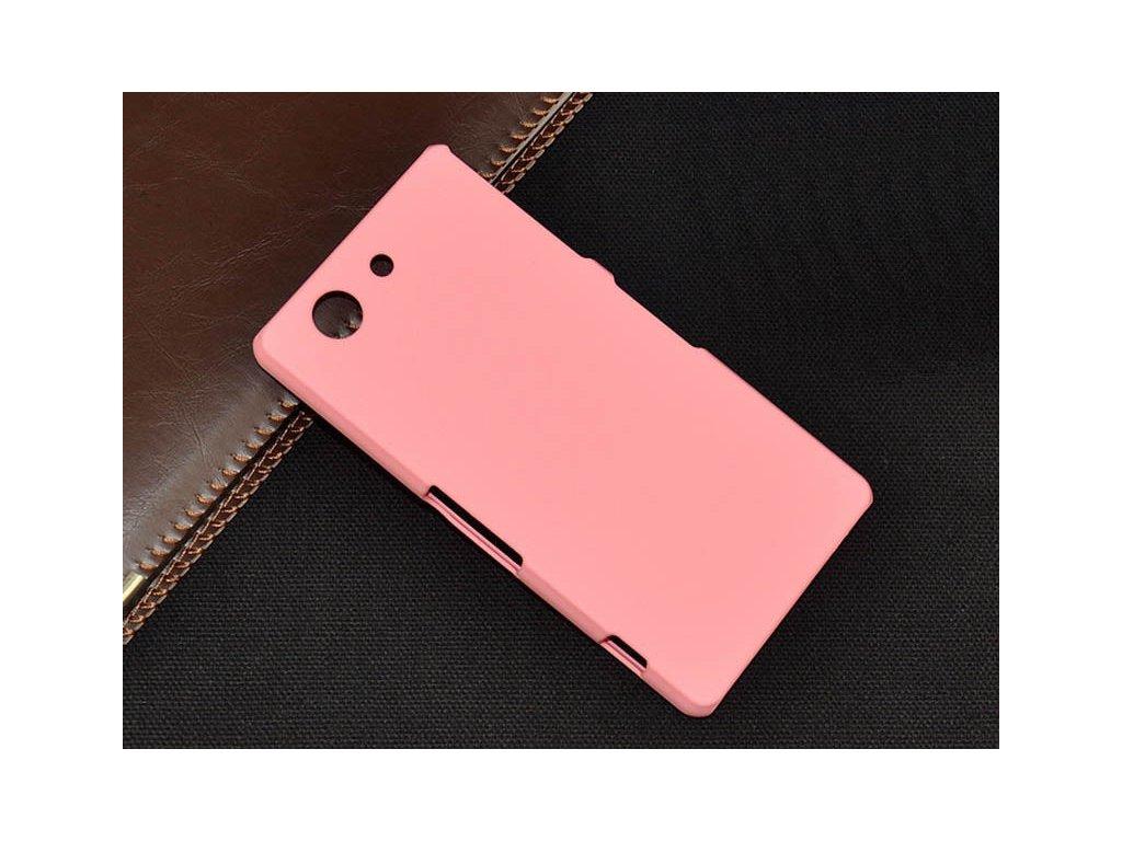 Plastový kryt (obal) pre Sony Xperia M4 aqua - pink (ružový)