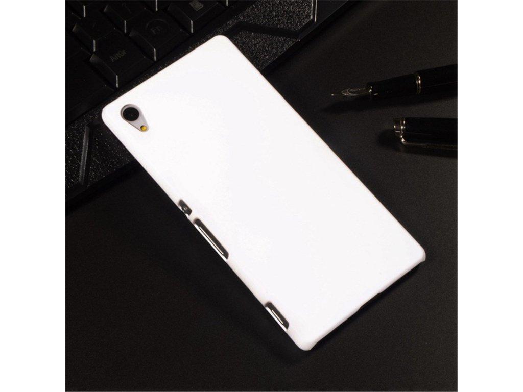 Plastový kryt (obal) pre Sony Xperia M4 aqua - white (biely)