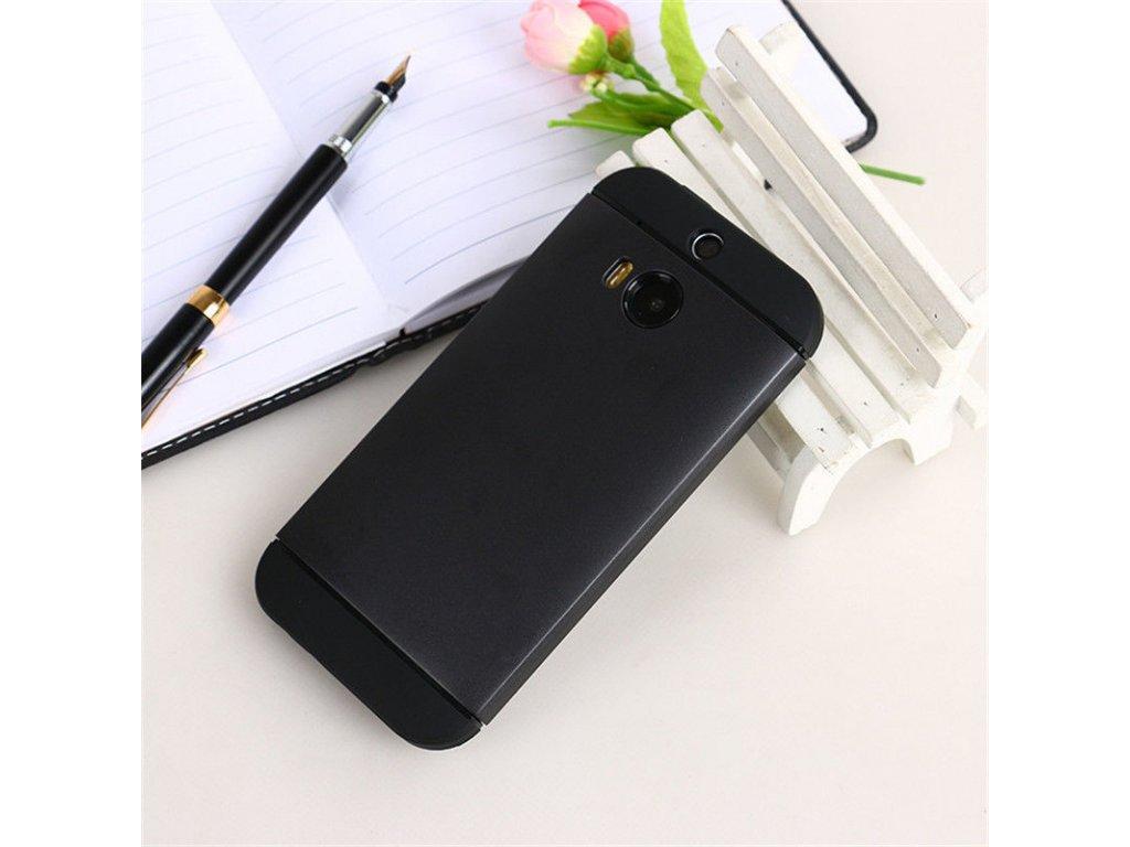 Plastový kryt (obal) pre HTC One M9 - black (čierny)