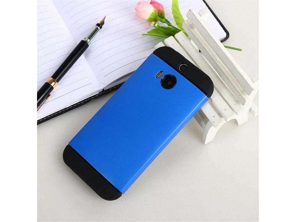 Plastový kryt (obal) pre HTC One M9 - blue (modrý)