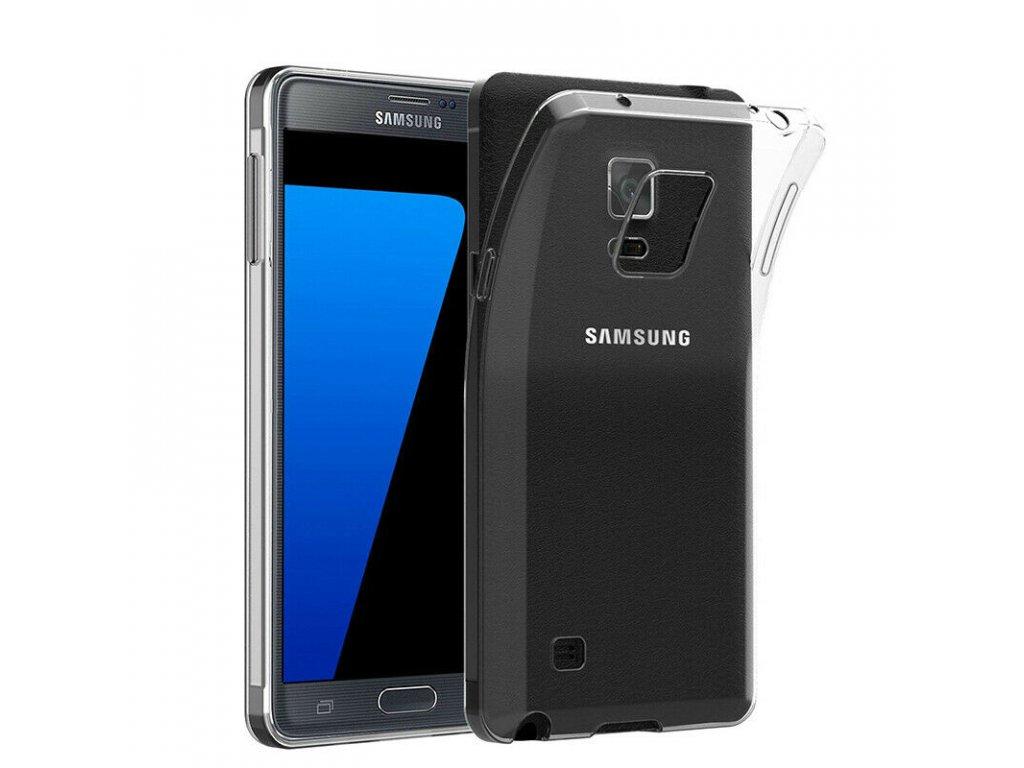 Silikónový kryt (obal) pre Samsung Galaxy Note 4 (N910) - piesvitný