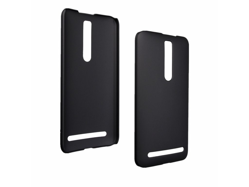 Plastový kryt na Asus Zenfone 2 - čierny