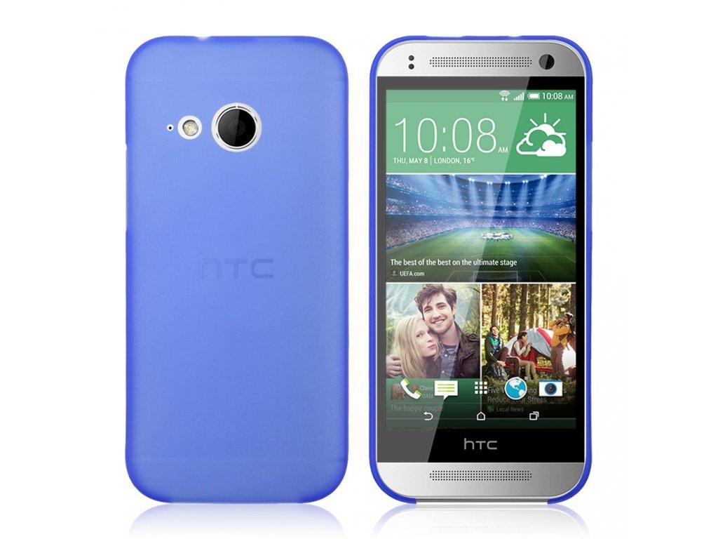 Plastový kryt (obal) pre HTC One mini 2 (M8) - modrý (blue)