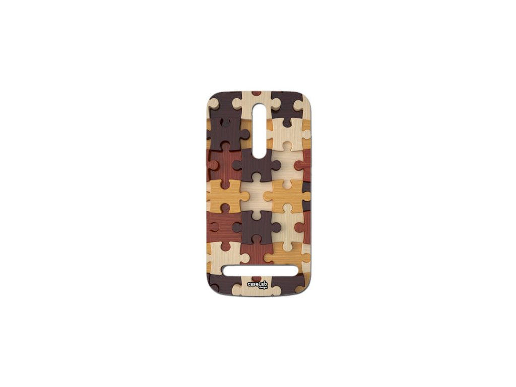 Plastový kryt (obal) pre Asus Zenfone 2 - puzzle