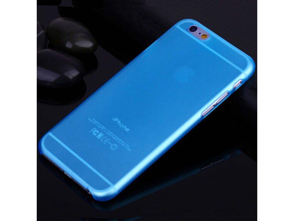 iPhone 6+/6S+ - ultra tenký plastový kryt (obal) - blue (modrý)