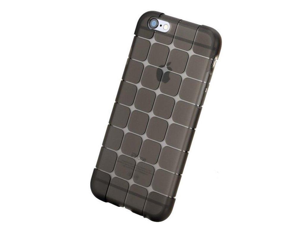 Silikónový kryt (obal) pre iPhone 6/6S - čierny (black)