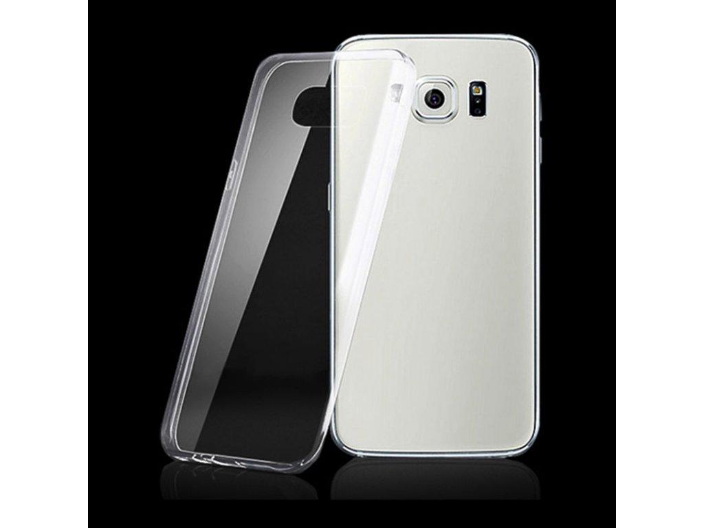 Silikónový kryt (obal) pre Samsung Galaxy S7 Edge - priesvitný (clear)