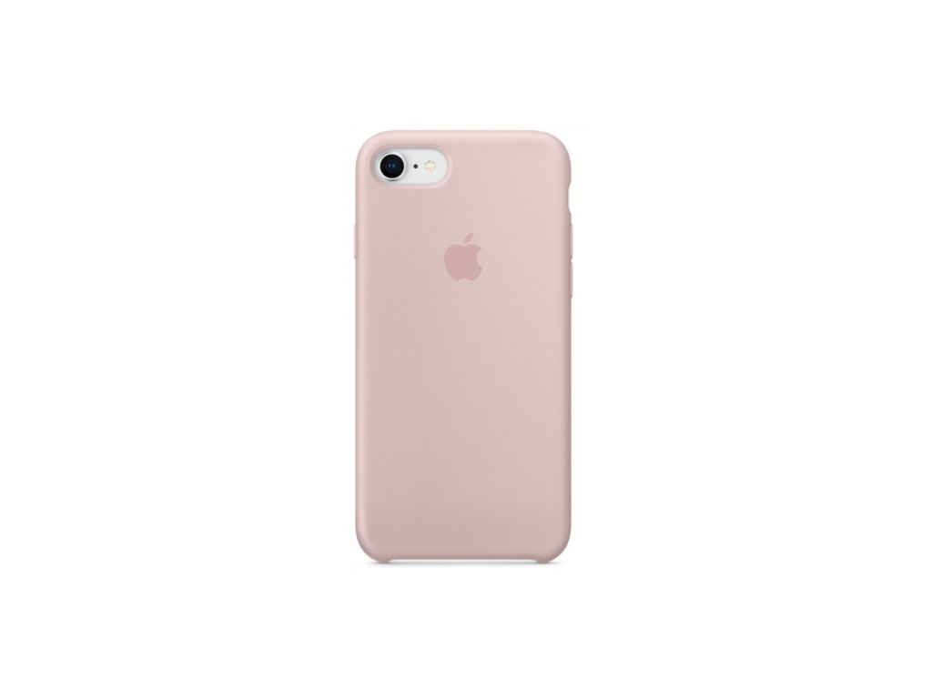 apple iphone 8 7 silicone case pink sand gallery