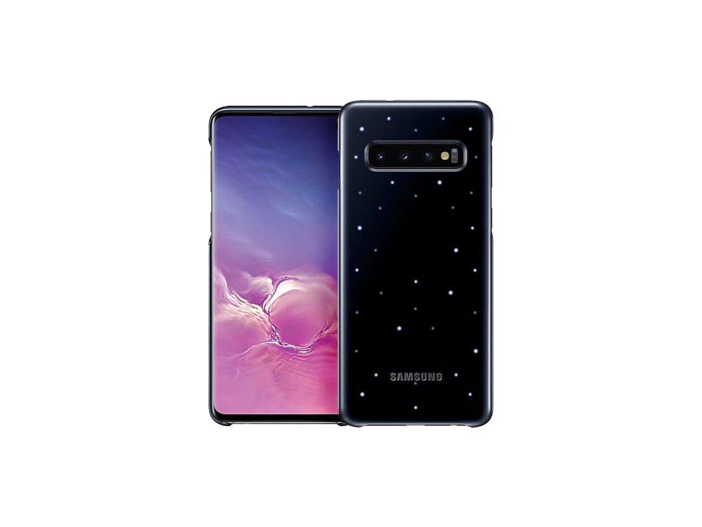 Originálny LED Cover kryt na Samsung S10 čierny