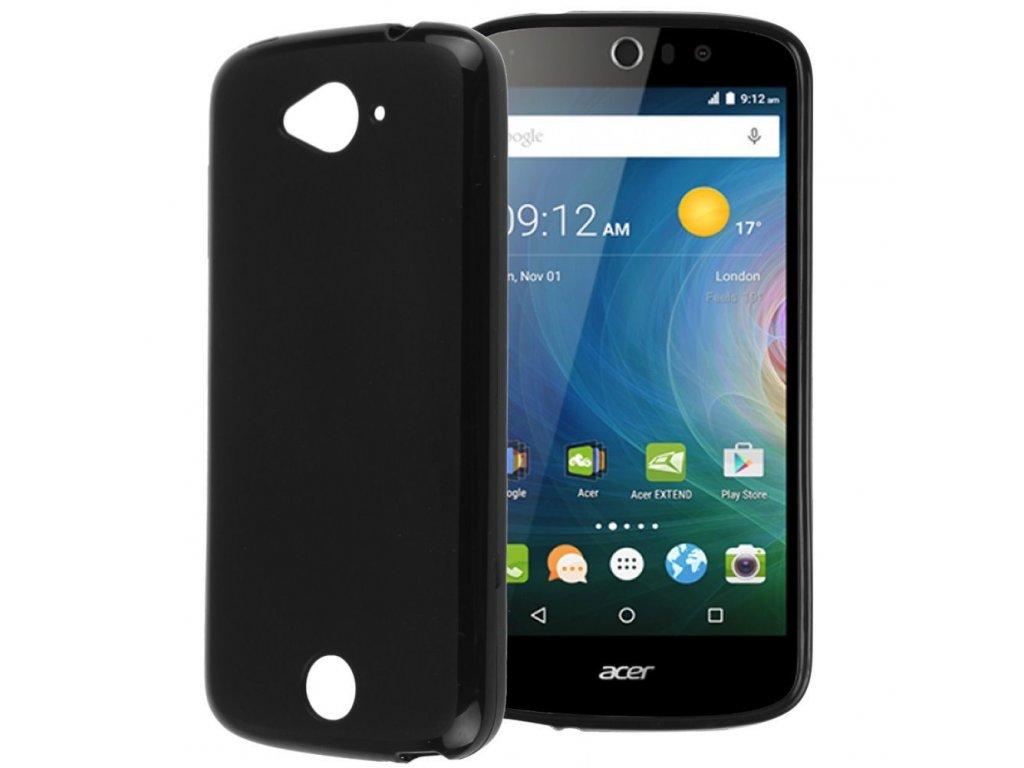 Silikónový obal na Acer Liquid Z530 čierny