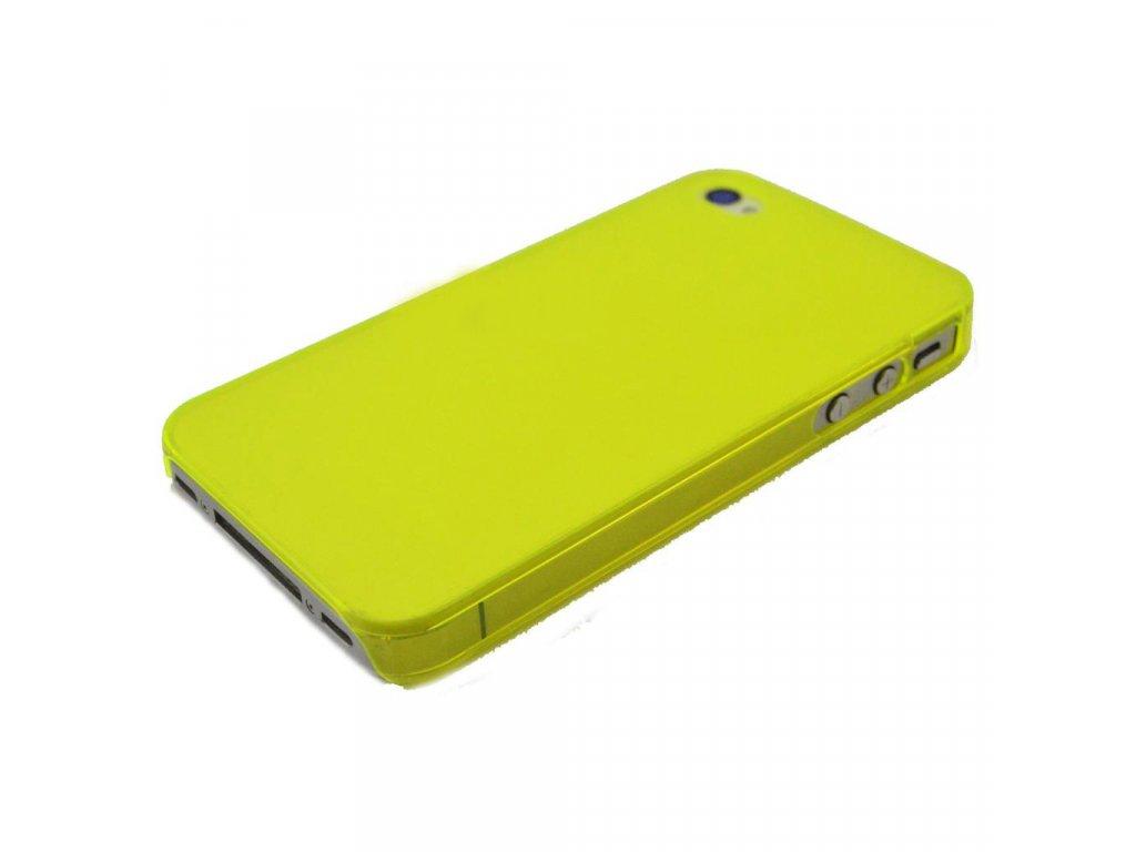 Plastový slim kryt (obal) pre Iphone 4/4S - green (zelený)