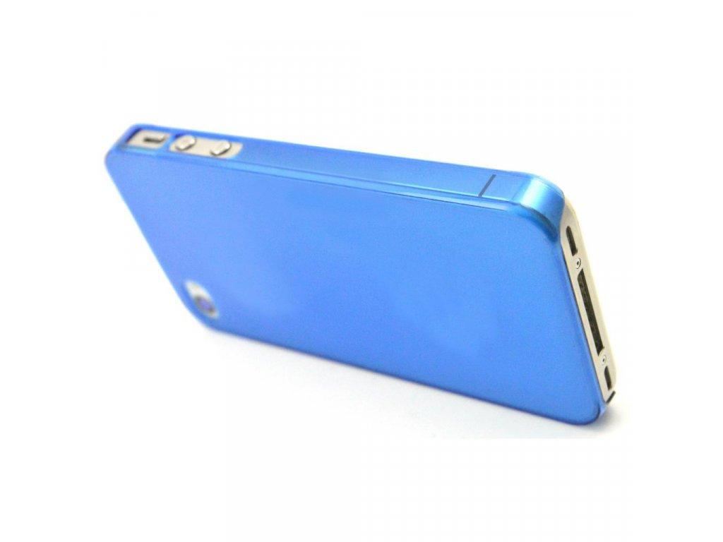 Plastový slim kryt (obal) pre Iphone 4/4S - blue (modrý)