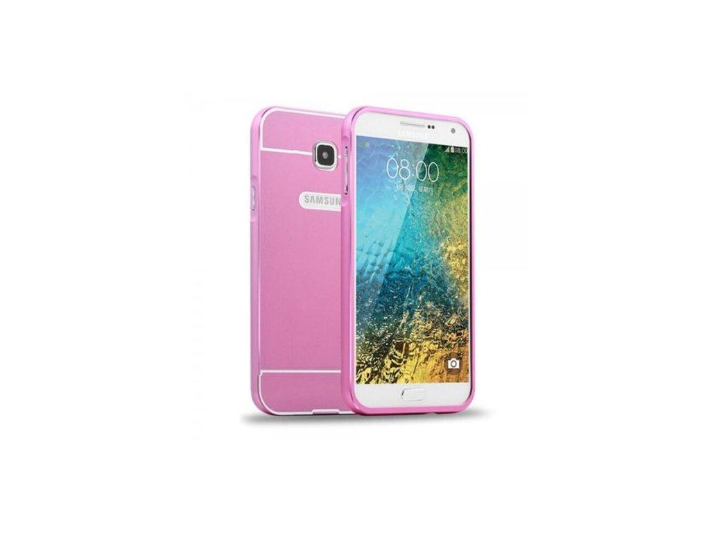 Hliníkový kryt (obal) pre Samsung Galaxy A5 2016 (A510F) - ružový ... 5687f26ee8d