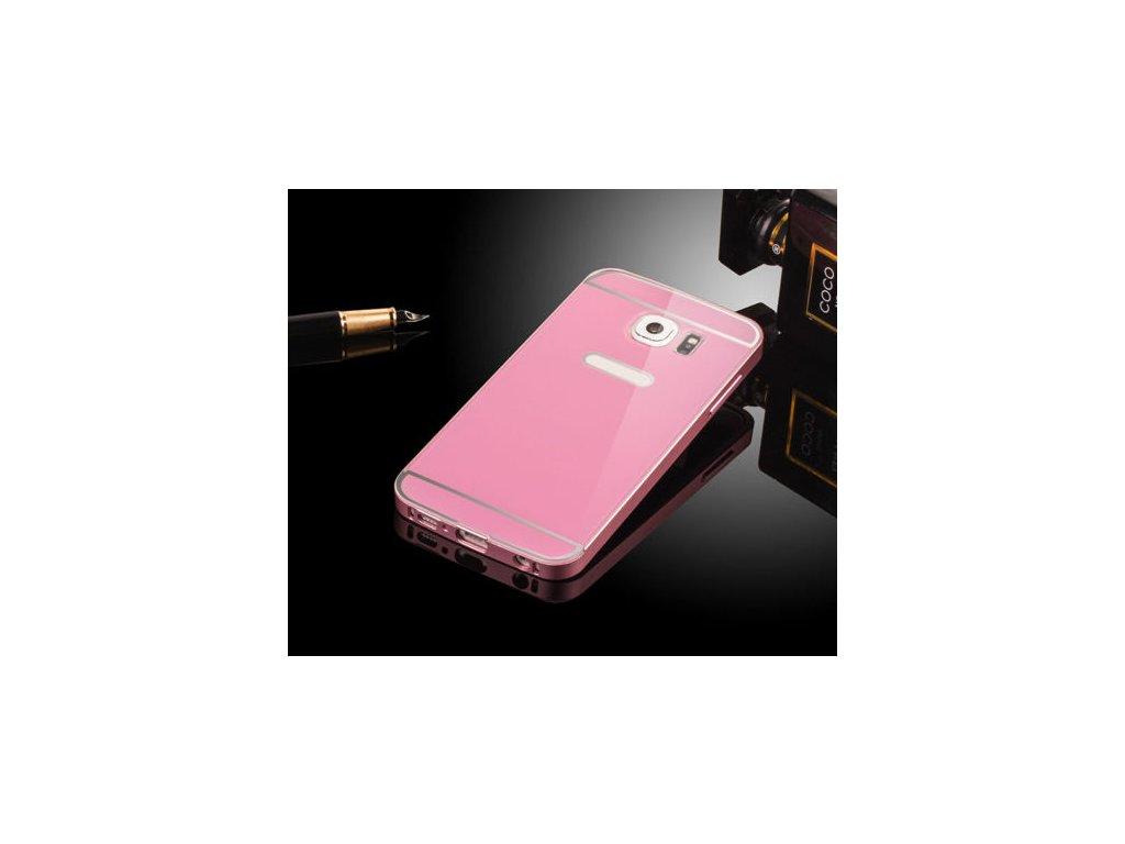Hliníkový kryt (obal) pre Samsung Galaxy S7 - ružový (pink)