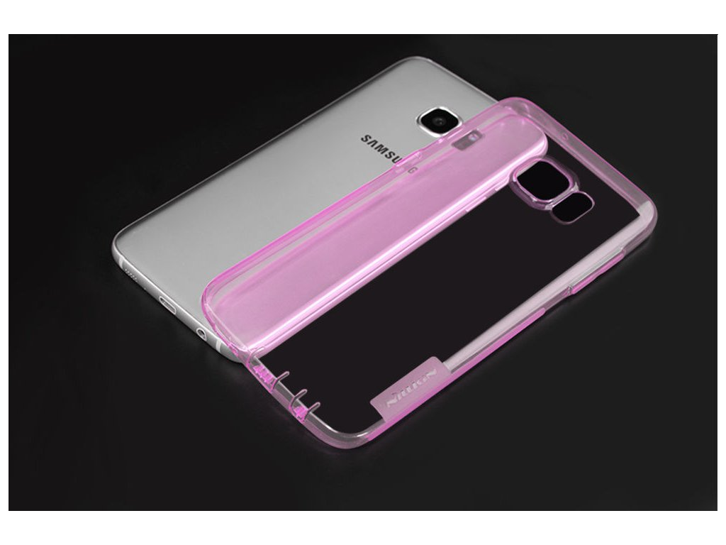 Silikónový Nillkin kryt (obal) pre Samsung Galaxy S7 - ružový (pink)