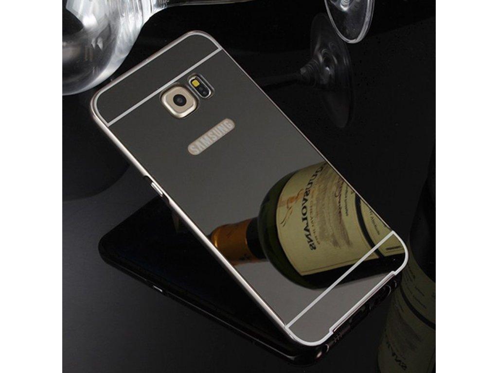 Hliníkový kryt (obal) pre Samsung Galaxy S7 Edge - čierny (black ... 148fd5c60f4