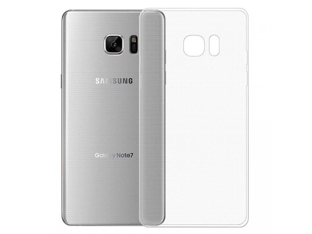 Silikónový kryt (obal) pre Samsung Galaxy Note 7 - priesvitný