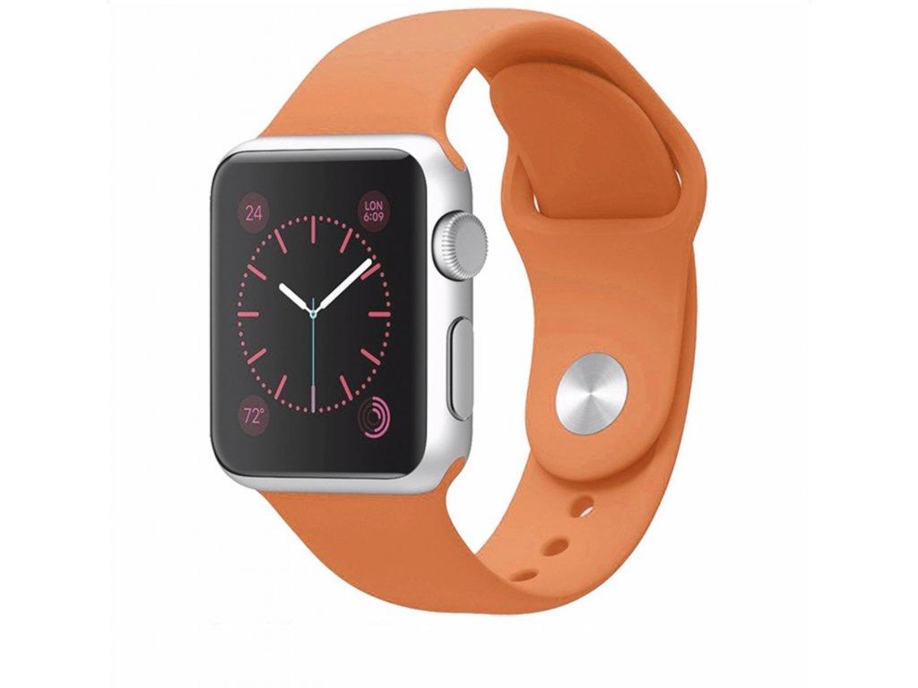 handodo silikónový remenienok iwatch oranžový
