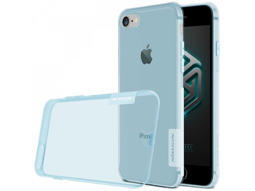 Silikónový Nillkin kryt (obal) pre iPhone 7/8/SE 2020 - modrý