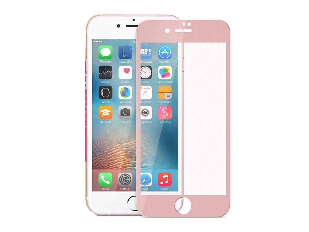 iPhone 7+ 8+ (Plus) - 3D tvrdené sklo - rose gold  18110f11262