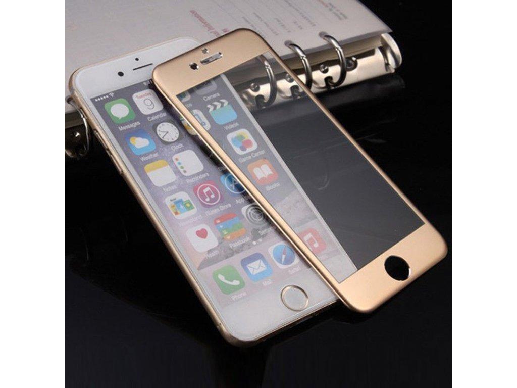 iPhone 7+/8+ (Plus) - 3D tvrdené sklo - zlaté
