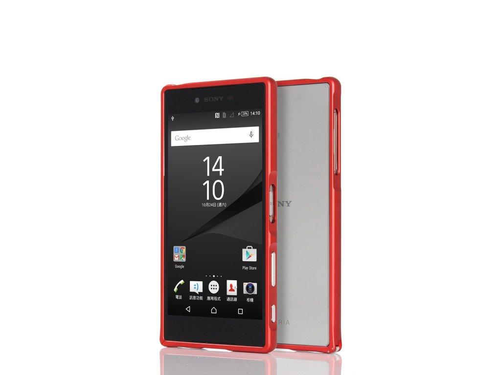 Hliníkový rám pre Sony Xperia Z5 - červený (red)