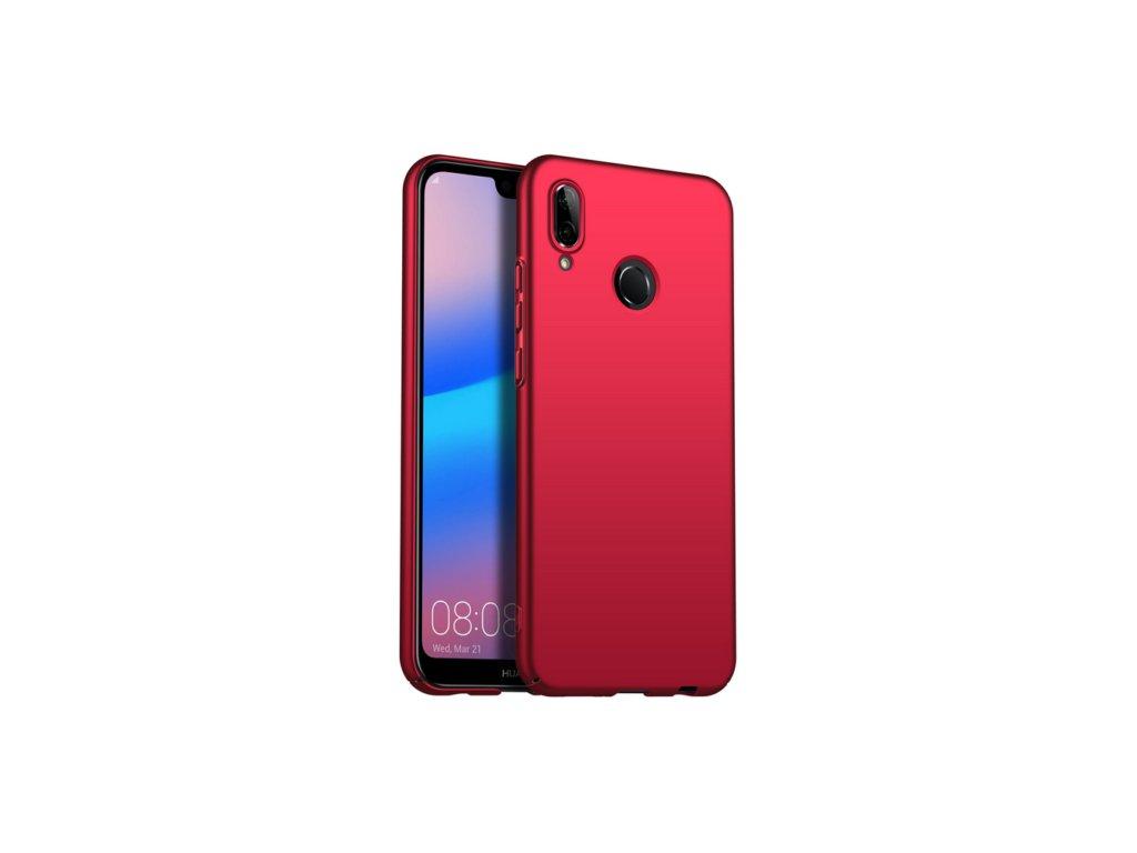 Plastový kryt (obal) pre Huawei Y6 2019/Y6 Prime 2019 - červený