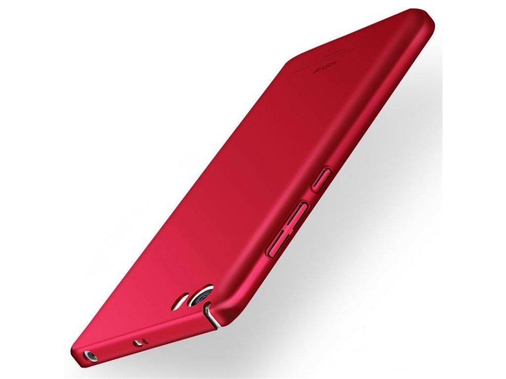 Plastový kryt (obal) pre Xiaomi Mi5 - červený (red)